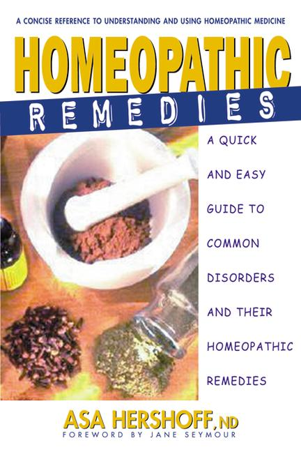 Homeopathic Remedies By Hershoff, Asa