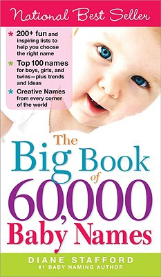 The Big Book of 60,000 Baby Names By Stafford, Diane